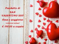 Pacchetto San Valentino 2017